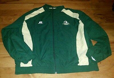 Russell Athletic Colorado State Rams Windbreaker Jacket Green XL Full Zip