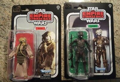 Hasbro Star Wars Black Series 4-LOM and Zuckuss 6 inch Action Figure - 2 Pack NM