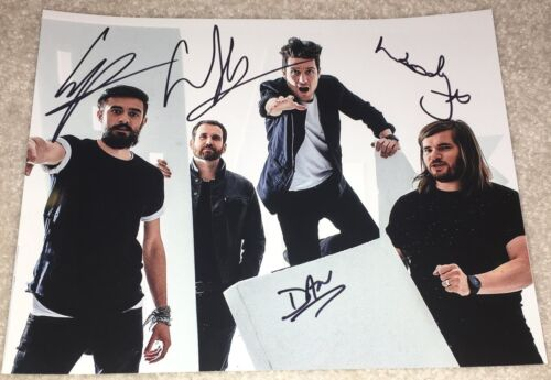 BASTILLE BAND SIGNED AUTOGRAPH BAD BLOOD 8x10 PHOTO DAN SMITH +3 w/PROOF