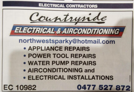 SUMMER SERVICE SPECIAL! Electrician & Air Conditioning