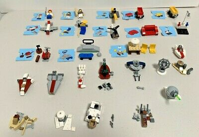 Lego Advent Calendar Lot of 40 For City 2824 & Star Wars Plus Extras - For Parts
