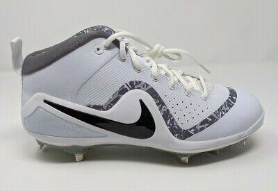 Nike Mens Air Zoom Flash SP Metal Baseball Cleats 16 Black Blue Professional