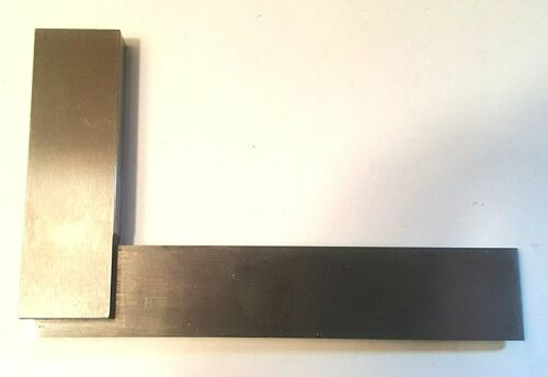 """Mitutoyo Engineers 916-592, 4"""" Fixed Square, Grade B. Made in England, Used"""