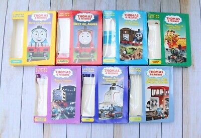 Lot 7 Thomas The Tank Engine Limited Editions VHS Percy James Gordon