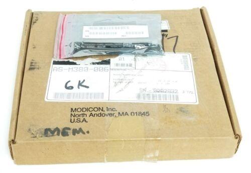 NIB MODICON AEG AS-M380-006 EXECUTIVE MEMORY MODULE AS-9487-004 M380-006