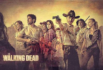 """The Walking Dead  Season 4 [ 8.5"""" x 11"""" ]   Poster  - t34"""