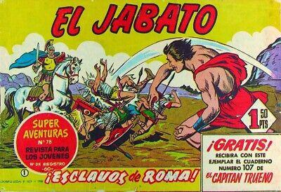 EL JABATO ORIGINAL. Completa y encuadernada en 8 tomos. segunda mano  Valladolid