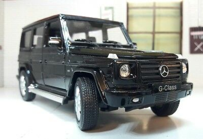 1:24 Scale Mercedes Black G-Class G Wagon 24012 Detailed Welly Diecast Model Car for sale  Shipping to Ireland