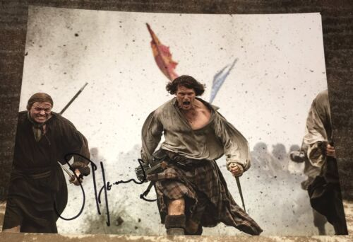 SAM HEUGHAN SIGNED AUTOGRAPH OUTLANDER JAMIE FRASER 11x14 PHOTO H w/EXACT PROOF
