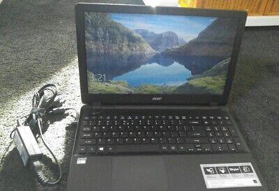 Black Acer Aspire E 15 Model: ES-521-24PQ Lightly Used 4GB Ram 1000 GB HDD
