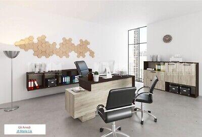 Arredamento ufficio completo modello City 9025 design moderno, elegante