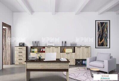 Arredamento ufficio completo modello City 9022 design moderno, elegante