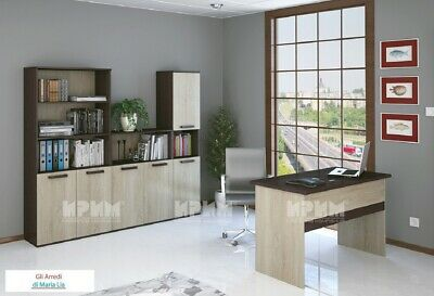 Arredamento ufficio completo modello City 9016 design moderno, elegante