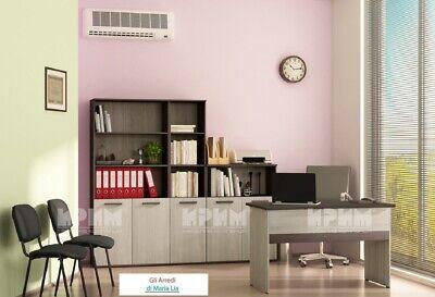 Arredamento ufficio completo modello City 9021 design moderno, elegante