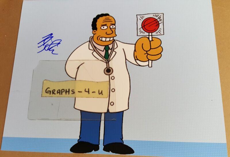 Harry Shearer Signed The Simpsons Autograph Dr Hibbert COA 1