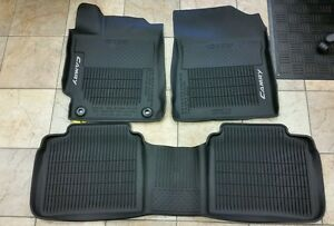 2015 2016 toyota camry camry hybrid 3pc all weather floor mats pt908 03155 20. Black Bedroom Furniture Sets. Home Design Ideas