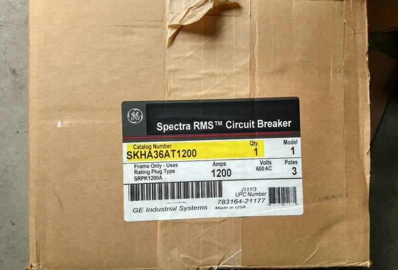 GE 1200amp SKHA36AT1200 circuit breaker 600v New in box 1year warranty!