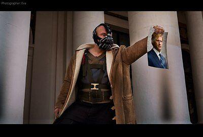Bane Costume Bane Mask Batman  Dark Knight Rises Cosplay