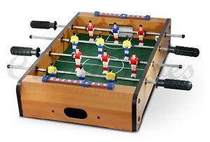 Biliardino calcetto da tavolo calcio balilla mini idea regalo natale compleanno - Calcio balilla da tavolo ...