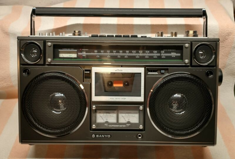 Sanyo M9994 Boombox (Vintage, AM/FM, Cassette player, Rare, 1978)
