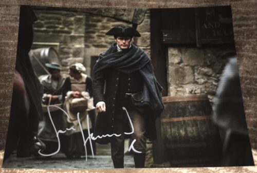 SAM HEUGHAN SIGNED AUTOGRAPH OUTLANDER JAMIE FRASER 11x14 PHOTO D w/EXACT PROOF