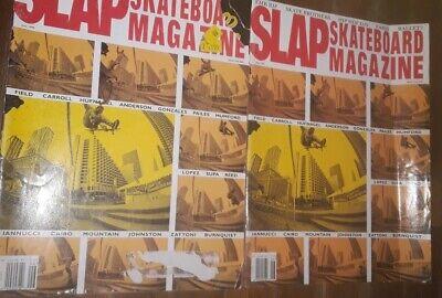 SLAP Skateboard Magazine June 1999 2 issues vintage skateboards