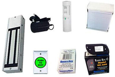 Magnetic Lock Proximity Card Access Control System Kit For Up To 65000 Users