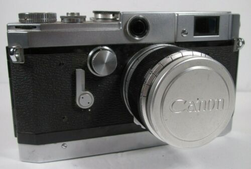 Canon Model VT Rangefinder with Canon 50mm f/1.8 lens M39 mount