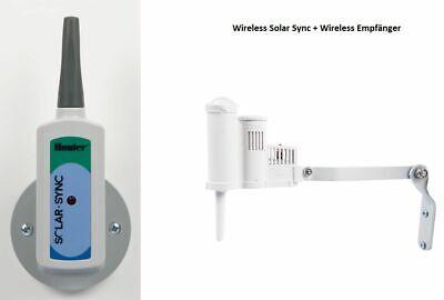 SOLAR SYNC Hunter Rain Sensor Wireless Sensor Weather Receiver + Sensor