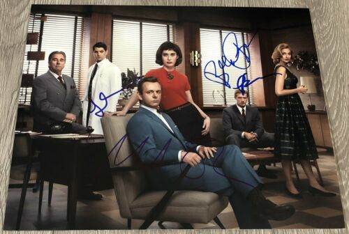 LIZZY CAPLAN MICHAEL SHEEN +2 SIGNED MASTERS OF SEX 11x14 PHOTO w/EXACT PROOF