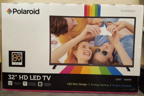 "Polaroid 32"" Inch HD 720p LED HDTV TV HDMI 32GSR3000SA Energy Star Television"
