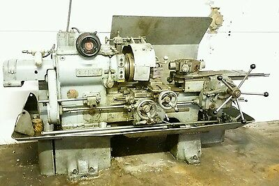 Gisholt 4 Turret Lathe Milling Machine 3 Phase Serial Number 2874-27 Usa