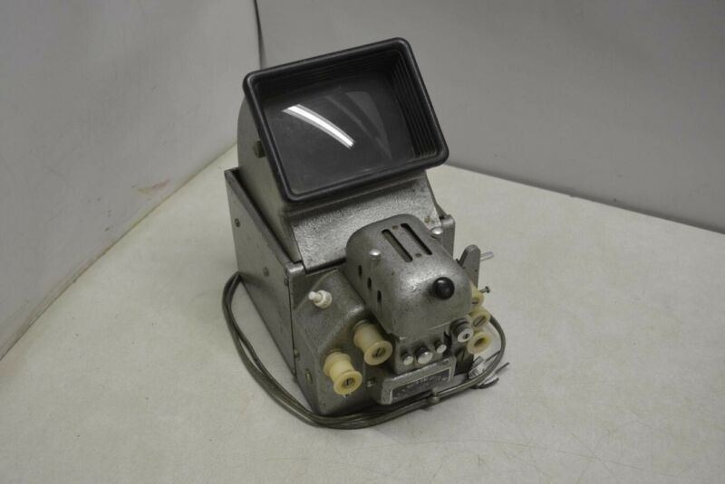 Vintage S.O.S Photo-Cine-Optics 16mm Film Viewer