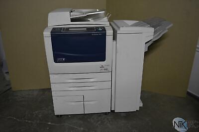 Xerox Workcentre 5845 Laser Mfp Copier Printer Scanner Woffice Finisher