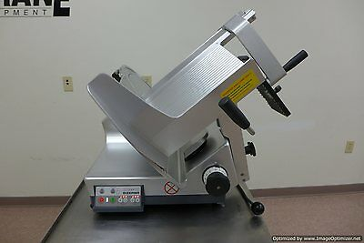 2014 Bizerba Gsp-hd Automatic Gravity Meat Cheese Deli Slicer Sharpener Hobart