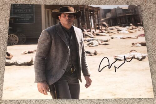 JAMES MARSDEN SIGNED AUTOGRAPH WESTWORLD 8x10 PHOTO D w/PROOF