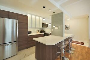 Executive fully furnished condo from  $1900/month