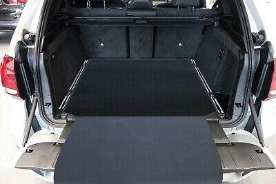 NEU $$$ Naht rot blau Kofferraummatte passend für BMW E70 X5 Laderaummatte