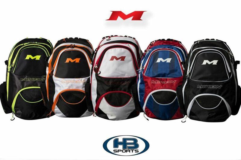 Miken XL Baseball and Softball Backpack: MKBG18-XL