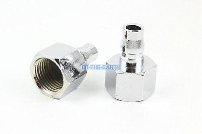 5 Pieces 12 Bsp Female Air Compressor Hose Quick Coupler Plug Fitting