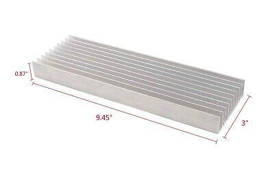 Universal Aluminum Heatsink Sink Power Triode Fet Led Ssr 9.45x3x0.87 A564