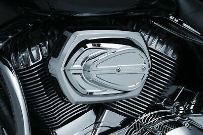Kuryakyn Chrome Crusher Maverick K&N Pro Air Cleaner Intake Filter Indian 14-18