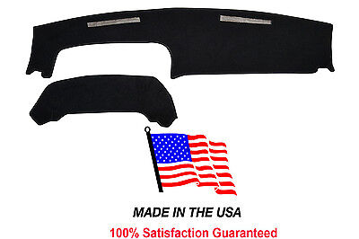 Black Carpet Dash Cover 1991-1994 Chevy Cavalier Mat Pad CH70-5 Made in USA
