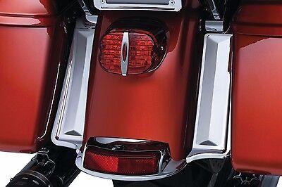 NEW Kuryakyn Chrome Rear Fender /Saddlebag Filler Panels Harley FREE SHIP