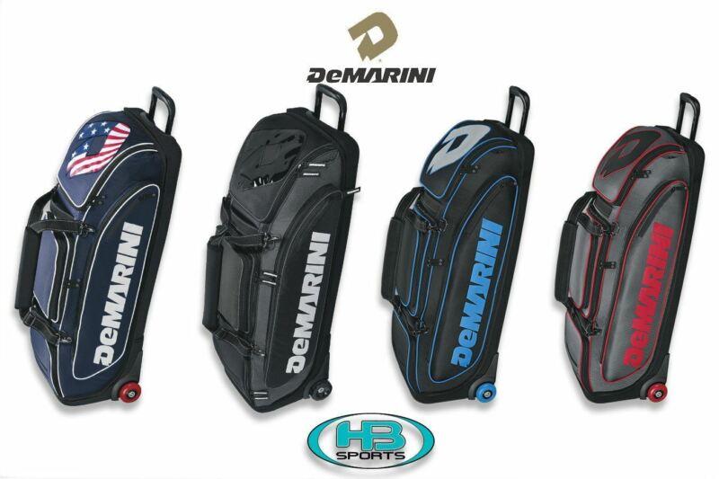 DeMarini Special Ops Baseball and Softball Wheeled Roller Bag: WTD9409
