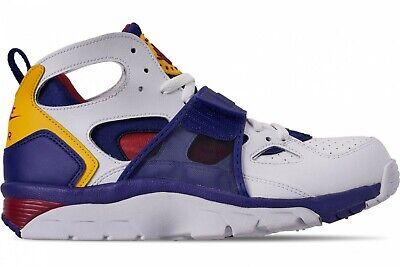 Nike Air Huarache Trainer White Purple size 10.5 or 11 Yellow 2018