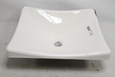 Kohler KOHLER K-2833-0 DemiLav Wading Pool Bathroom Sink, White  - covid 19 (White Wading Pool coronavirus)