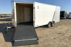 2018 Cross Trailers 8'6x22' Enclosed Snowmobile Trailer