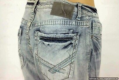 BKE Denim Jeans - Tyler Straight-Relaxed-Stretch - Men's Sz 33S - W:33 x L: 29.5