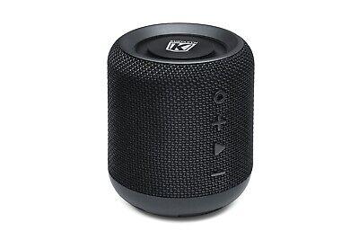 Kuryakyn 1952 Black Sidekix Plus Bluetooth Wireless Speaker Waterproof Cup Fit